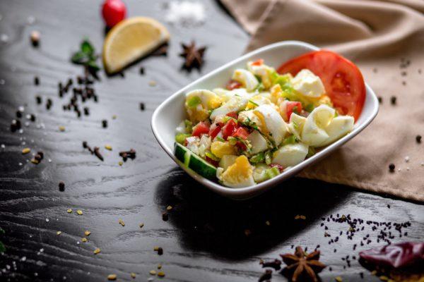 Яичный салат